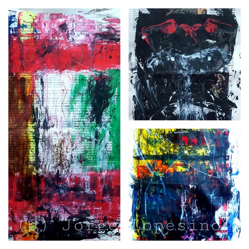 Abstract news serie